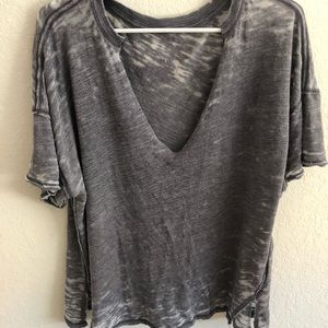 Free People oversized t-shirt